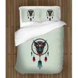 Моден спален комплект с бухал Капан за сънища - Dream Catcher