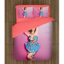 3D спално бельо Кейти Пери в розово - Katy Perry Pink