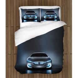 Комплект Спално бельо със завивка коли Хибрид - Car Hybrid