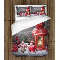 Празнично спално бельо със завивка Коледна украса - Christmas Decoration