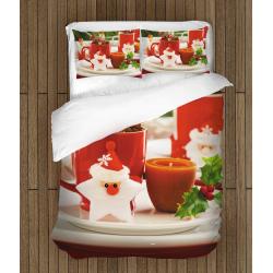 3D коледно спално бельо Коледни мотиви - Christmas motives