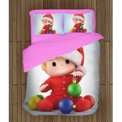 Детски коледни чаршафи Коледно бебе - Christmas Baby
