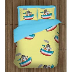 Детско спално бельо Кораб - Ship