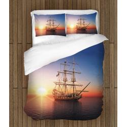 Спално бельо със завивка Корабче - Little Ship