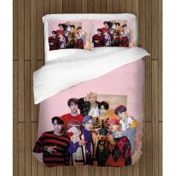 Спално бельо Корейска група BTS - BTS