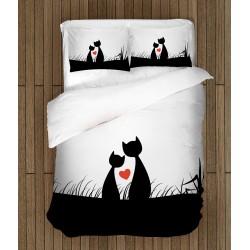 Спално бельо Котешка любов - Cats Love