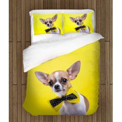 Спално бельо 3D със завивка Чихуахуа - Chihuahua dog