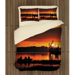 Комплект спално бельо Късен риболов - Fishing