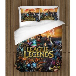 Геймърско спално бельо LoL - League of Legends