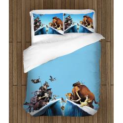 Спално бельо със завивка Ледена епоха - Ice Age