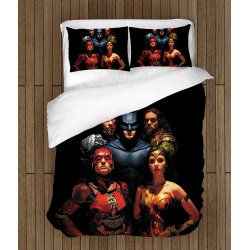 Спално бельо Лигата на справедливостта - Justice League