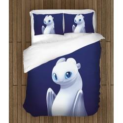 Детски спален комплект Как да си дресираш дракон Нощен бяс - Light Fury