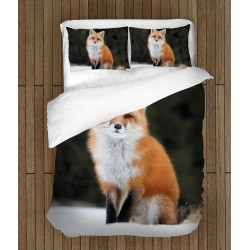 3D спално бельо Лисица - Fox