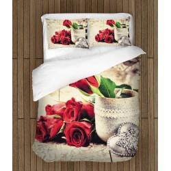 Романтичен спален комплект Любовна история - Love Story