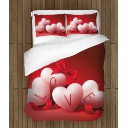 Спално бельо за влюбени Любовта е навсякъде - Love is Everywhere