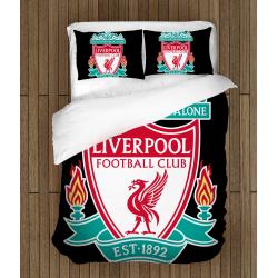 Футболно спално бельо със завивка 3D Ливърпул - Liverpool