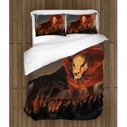 Спално бельо със завивка Огнен Лъв - Lion on Fire