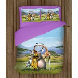 Спален комплект за деца Мадагаскар - Madagascar