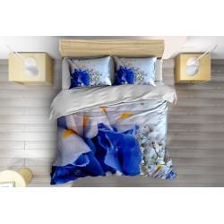 Спално бельо с олекотена завивка Магически цветя - Magic Flowers