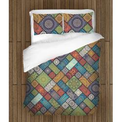 Спално бельо със завивка 3D Мандала - Mandala