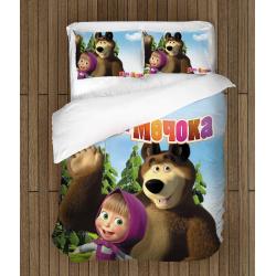 Детско спално бельо Маша и мечока - Masha And The Bear