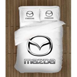 Спално бельо 3D с лого Мазда - Mazda Logo