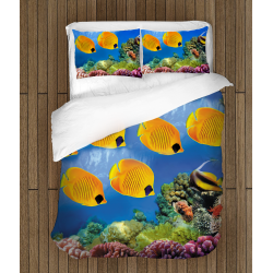 Спално бельо 3D със завивка Морски мотиви - Sea Motives