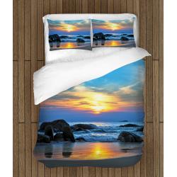 Романтично Спално бельо със завивка Морски пейзаж - Sea Landscape