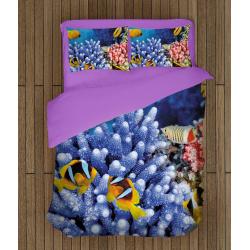 Спално бельо 3D със завивка Морско дъно - Bottom Of The Sea