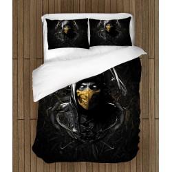 Фенско 3D спално бельо Мортал Комбат - Mortal Combat