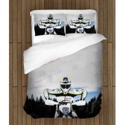 Комплект Спално бельо със завивка Мотор Хускварна - Motorcycle Husqvarna