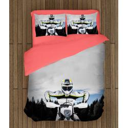 Комплект спално бельо Мотор Хускварна - Motorcycle Husqvarna