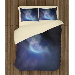 Спално бельо със завивка 3D Звездна мъглявина - Sky Nebula