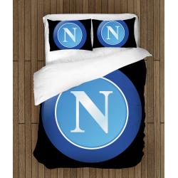 Футболно спално бельо със завивка 3D Наполи - Napoli