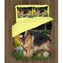 Чаршафи за легло с Немска овчарка - German Shepherd Dog