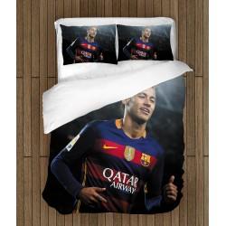 Футболен спален комплект Неймар Барселона - Neymar Barcelona