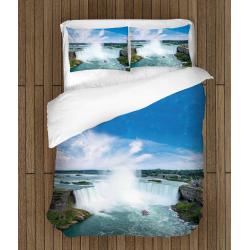 Спално бельо със завивка Ниагарски водопад - Niagara Falls