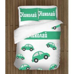 Детско спално бельо с име Николай - Nikolay