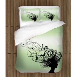Спално бельо със завивка 3D Обичай природата  - Love nature