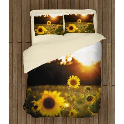Комплект спални чаршафи Октомврийски залез - Sunset in October