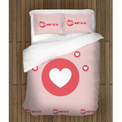 Спално бельо със завивка 3D - У ля ля - Oh la la