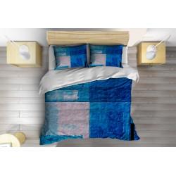 Арт Спално бельо Абстракт Синьо - Abstract Blue