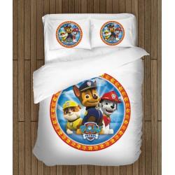 Детско спално бельо с Пес патрул - Paw Patrol White