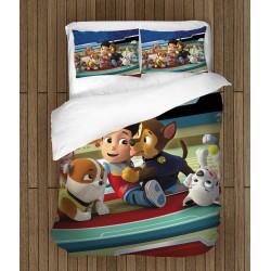Спален комплект за деца Пес патрул - Paw Patrol