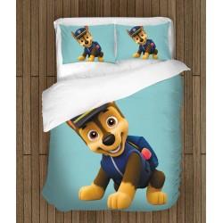 Детско спално бельо с Чейс от Пес Патрул - Chase Paw Patrol