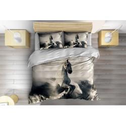Красиво Спално бельо с олекотена завивка Пегас в облаците - Pegasus in the Clouds