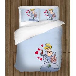 Луксозен детски спален комплект Пепеляшка - Cinderella