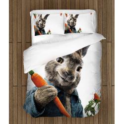 Детско спално бельо със завивка Зайчето Питър - Peter Rabbit