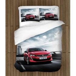 Фенски спален комплект Пежо - Peugeot Red