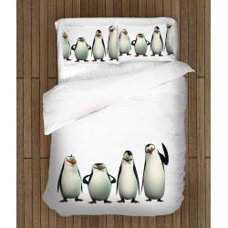 Спално бельо със завивка Пингвините от Мадагаскар - Penguins from Madagascar